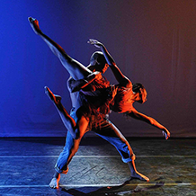 Dance performance at Carnegie Mellon University School of Drama were two couples find love and hapiness through sturggle.